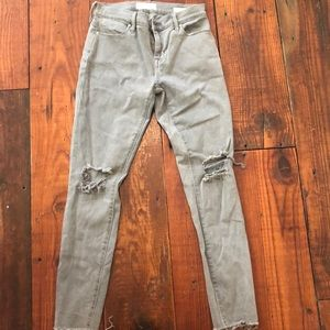 Pacsun Grey Ankle Jegging